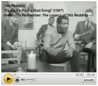 Otis Redding avec Carla Thomas Shake